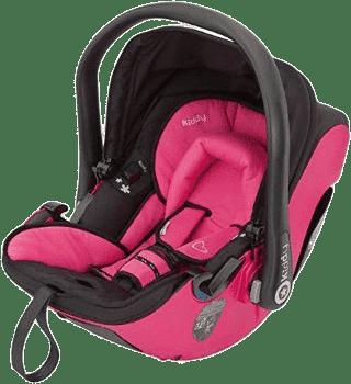 KIDDY Autosedačka Evolution Pro 2 – pink (0-13kg)