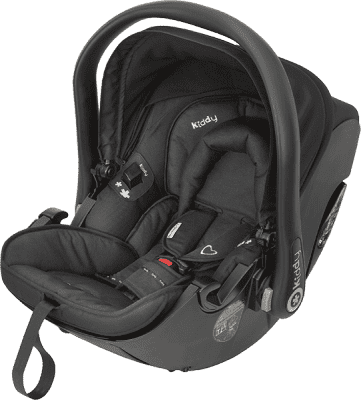 KIDDY Autosedačka Evolution Pro 2 – racing black (0-13kg)