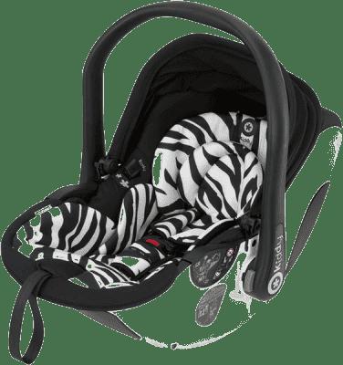 KIDDY Autosedačka evo-lunafix s izofixovou bázou 2 - Zebra (0-13kg)