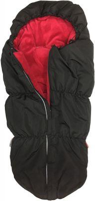 AESTHETIC Fusak Outdoor - čierna/červená