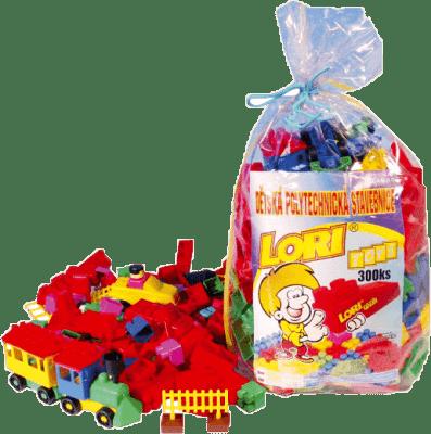 LORI Stavebnice LORI 300 – plast