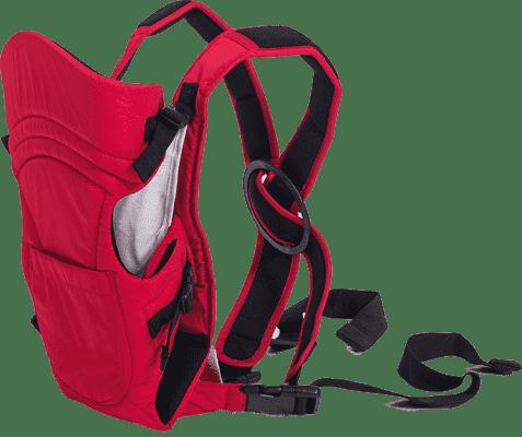 PETITE&MARS Nosidełko dla dzieci Caddy - czerwone