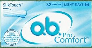 O.B. Tampony ProComfort Light Days 32 szt.