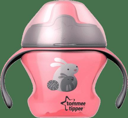 TOMMEE TIPPEE Netečúci hrnček Explora First Cup 150ml 4m + - ružový
