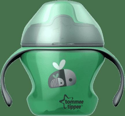 TOMMEE TIPPEE Netečúci hrnček Explora First Cup 150ml 4m + - zelený