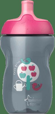 TOMMEE TIPPEE Športová fľaša Explora 12m +, 300ml-dievča