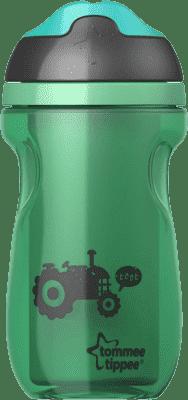 TOMMEE TIPPEE Netečúci termohrnček Explora 260ml 12m + - zelený