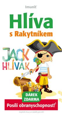 IMUNIT Hlíva ústřičná pro děti s Rakytníkem (60 tablet) – JACK HLÍVÁK