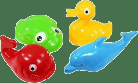 Směr Plavací sada zvířátka plast 4ks
