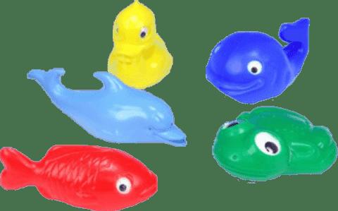 Směr Sada zvířátka do vany – plast