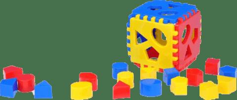CHEMOPLAST Vkládací kostka Mimi 1 – plast