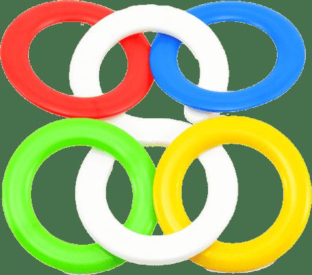 CHEMOPLAST Chrastítko kousací kroužky – plast
