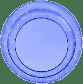 TOMMEE TIPPEE Talířky 3 ks 12m+ Basic-modrá