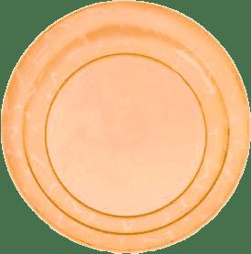 TOMMEE TIPPEE Talerzyki 3 szt. 12Msc.+ Basic-pomarańczowe