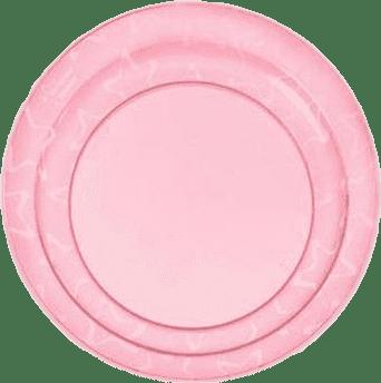 TOMMEE TIPPEE Basic Talerzyki (12m) - 3 szt. Różowy