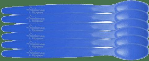 TOMMEE TIPPEE Basic Łyżeczki (6m) - 6 szt. Chłopiec