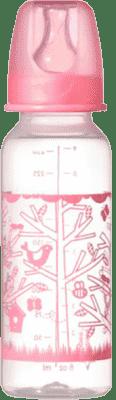 TOMMEE TIPPEE Kojenecká láhev 2 ks 250 ml 3 m+ Basic-holka
