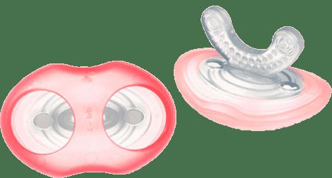 TOMMEE TIPPEE Kousátko pro citlivé dásně a první zoubky C2N, 3m+,holka