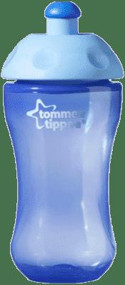 TOMMEE TIPPEE Športová fľaša 300ml 36m + Basic-modrá