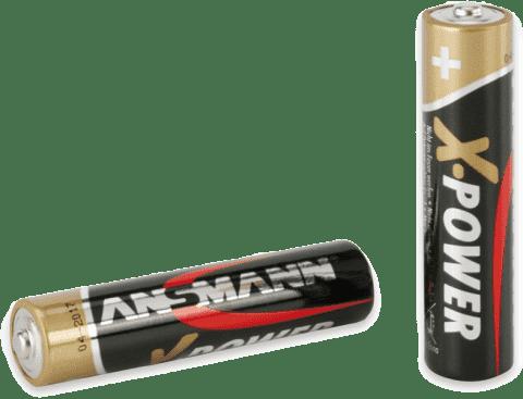ANSMANN Alkalické batérie AAA 2ks