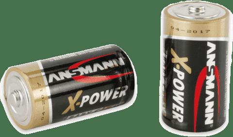 ANSMANN Alkalické batérie Baby C 2ks