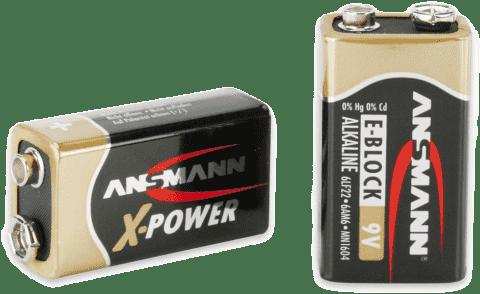 ANSMANN Alkalická batéria 9-V