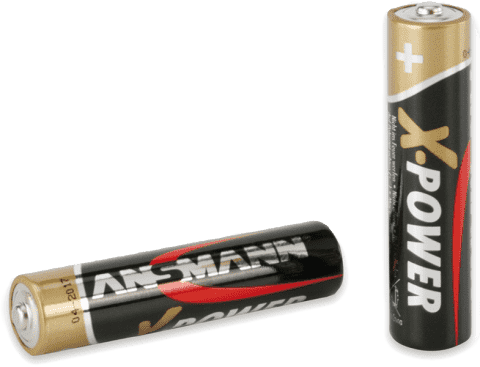 ANSMANN Alkalické batérie AAA 4ks