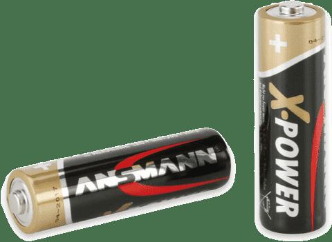 ANSMANN Alkalické batérie AA 4ks