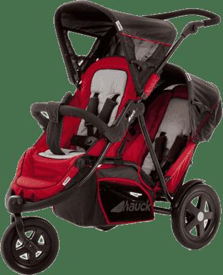 HAUCK Wózek bliźniaczy Freerider SH12 red 2016