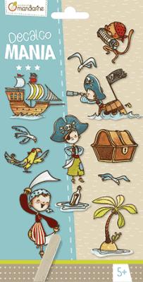 AVENUE MANDARINE Pretláčacie obrázky Piráti