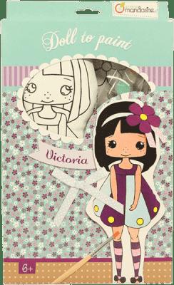 AVENUE MANDARINE Lalka do malowania – Victoria