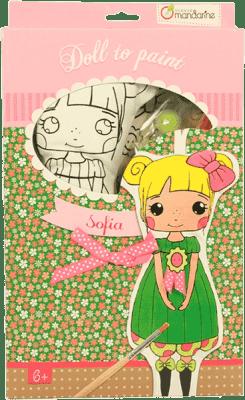 AVENUE MANDARINE Lalka do malowania – Sofia