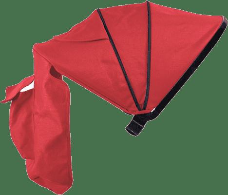 PETITE&MARS Strieška Canvas Red ku kočíku - Street
