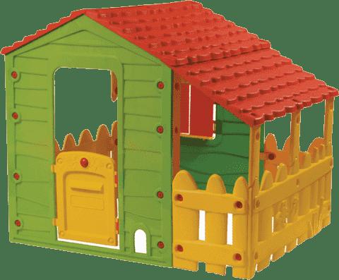 BUDDY TOYS Domeček na zahradu Farm s verandou