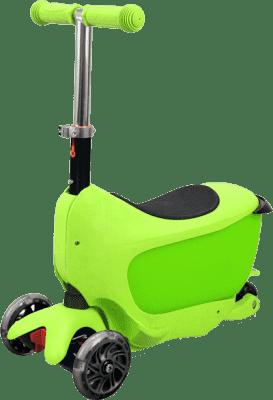 BUDDY TOYS Koloběžka TAMAN 2v1, zelená