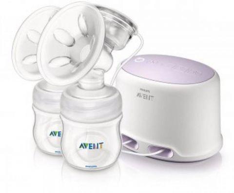 Philips AVENT Odsávačka mateřského mléka Natural DUO elektronická