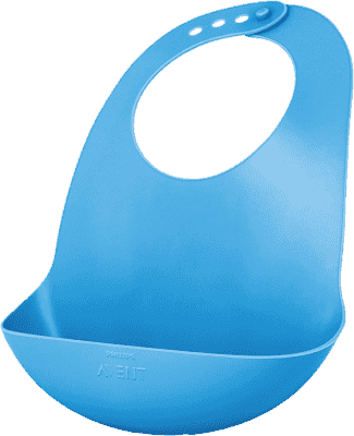AVENT Podbradník plastový modrý