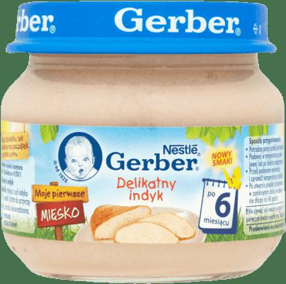 GERBER Delikatny indyk (80g)