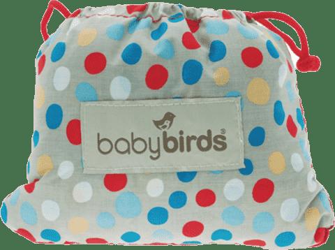 BABYBIRDS Vreckové prenosné sedadlo River stone