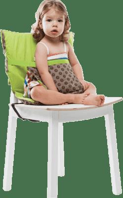 BABYBIRDS Podręczne siedzisko na krzesło – Round and Round