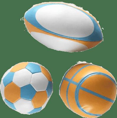 BABYBIRDS Prvé športové loptičky