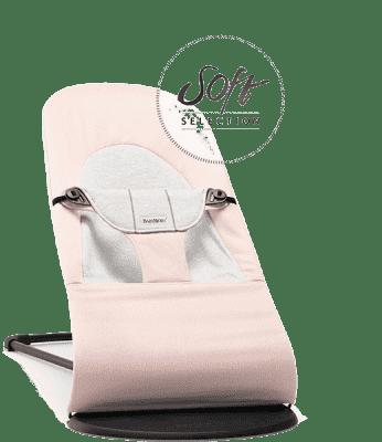 BABYBJÖRN Balance ležadlo SOFT Jersey Svetlo ružové G