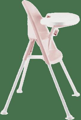 BABYBJÖRN Židle vysoká s pultíkem – Light Pink