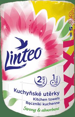 LINTEO Kuchyňské utěrky XXL 1ks, 50m, 2-vrstvé