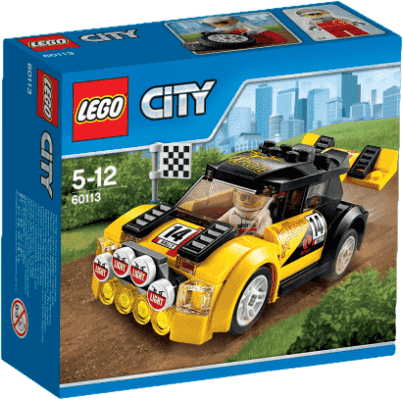 LEGO® City Great Vehicles Závodní auto