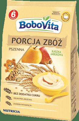 BOBOVITA Kaszka Porcja zbóż pszenna jabłko (170g)