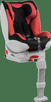 HAUCK Autosedačka Varioguard 0/1 black/red 2016
