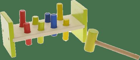 2-PLAY Kladivková hračka drevená