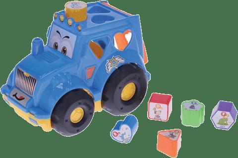 MIKRO TRADING Traktor z sorterem - czerwony