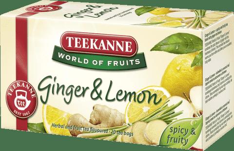 TEEKANNE Herbata Ginger Lemon (imbir - cytryna), 20 torebek
